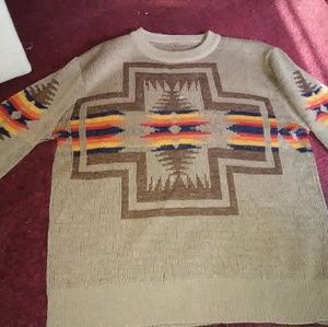 Vintage pendleton high grade western wear sweater